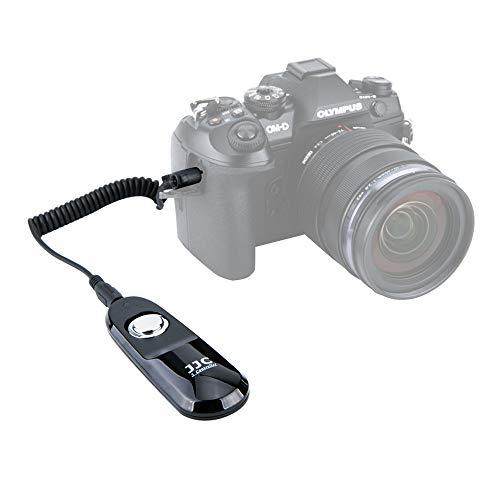 JJC telecomando con cavo di scatto per Fotocamera Mirrorless Olympus OM D E M1 Mark II OM D E M1X